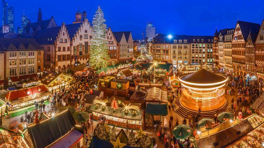 Der Frankfurter Weihnachtsmarkt hat seine Tore geöffnet