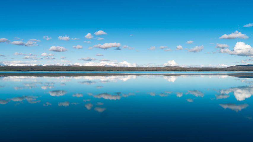 Lake Pukaki auf der Südinsel Neuseelands