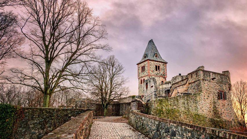 Burg Frankenstein in Darmstadt, Hessen, Deutschland