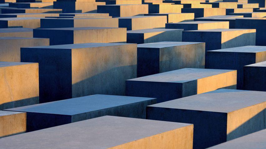Denkmal für die ermordeten Juden Europas in Berlin, Deutschland