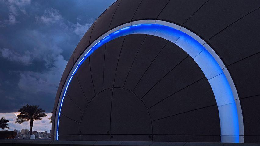 Planetarium an der Bibliotheca Alexandrina, Alexandria, Ägypten