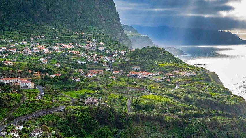Nordküste Madeiras bei Santana, Portugal
