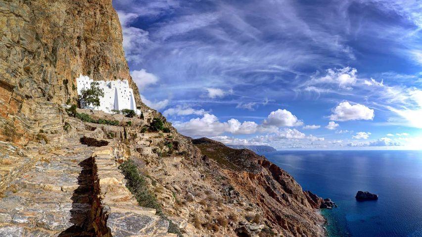 Kloster Panagia Chozoviotissa auf Amorgos, Griechenland