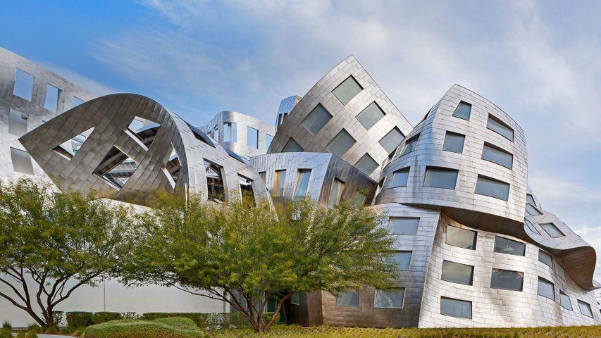 Lou Ruvo Center for Brain Health in Las Vegas, Nevada, USA. Anlässlich des Internationalen Tages der Architektur