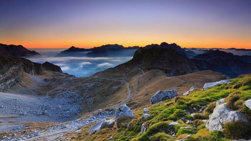 Slowenische Seite der Julischen Alpen