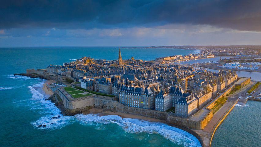 Saint-Malo in der Bretagne, Frankreich