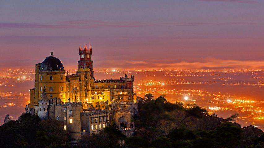 Der Palácio Nacional da Pena in Sintra, Portugal