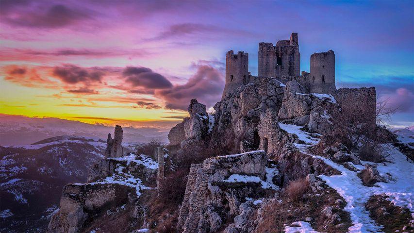 Rocca Calascio in den Abruzzen, Italien