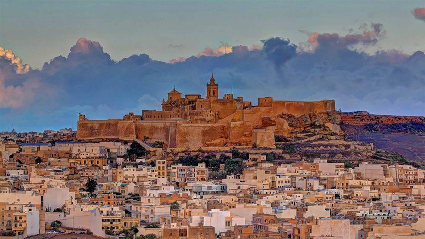 Cittadella auf Gozo, Malta