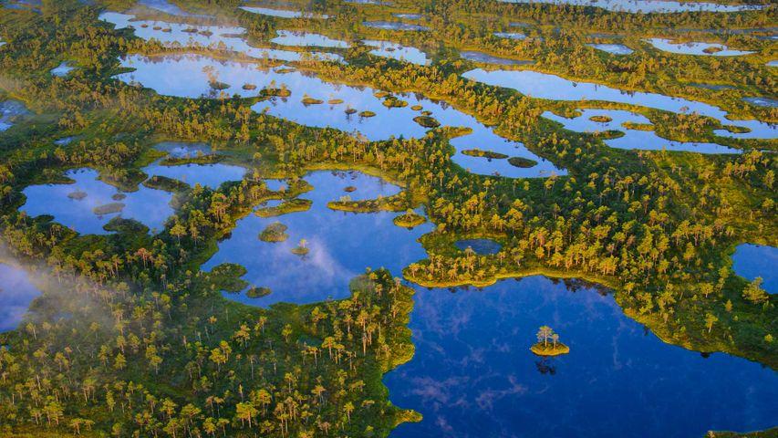 Nationalpark Ķemeri, Lettland