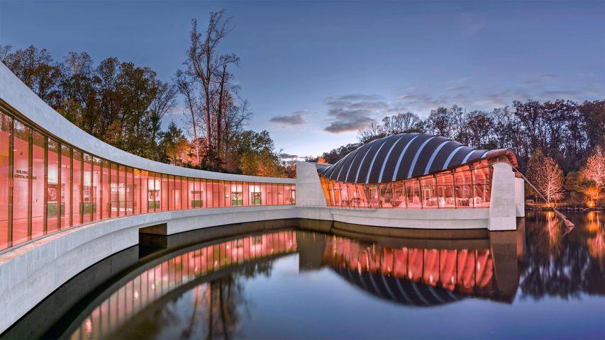 Das Crystal Bridges Museum of American Art in Bentonville, Arkansas, USA