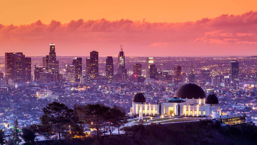 Griffith Observatory, Los Angeles, Kalifornien, USA