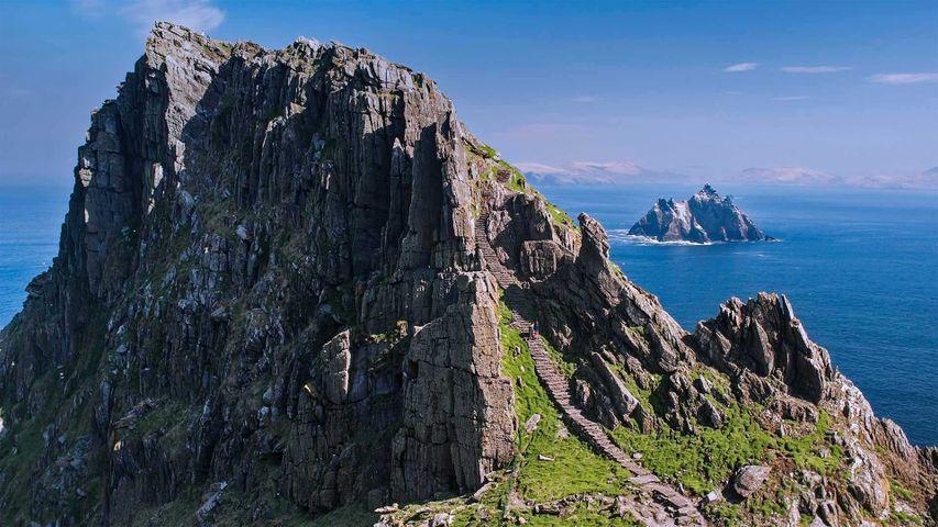 Skellig Islands, Skellig Michael und Little Skellig, in Irland