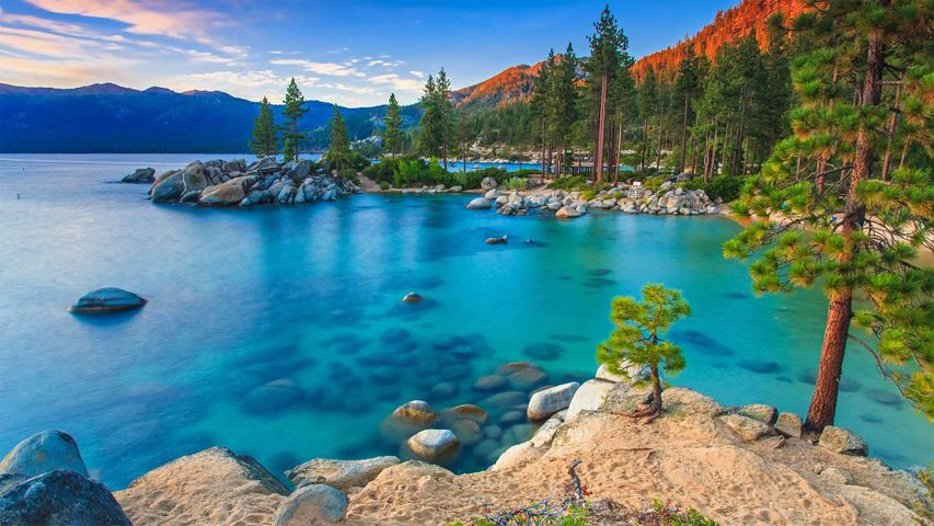 Sand Harbor, Lake Tahoe Nevada State Park, Nevada, USA