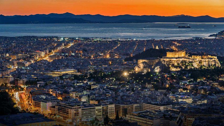 Athen, Griechenland, anlässlich des griechischen Unabhängigkeitstages