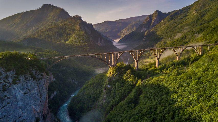 Đurđevića-Tara-Brücke, Montenegro