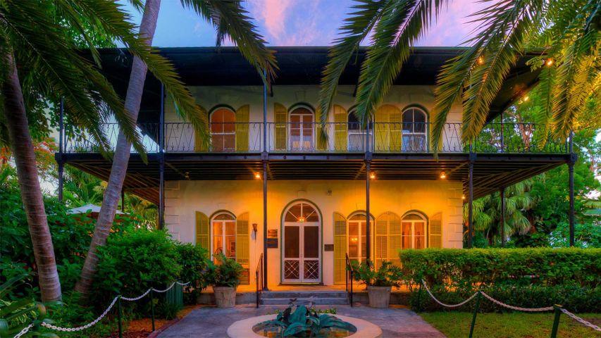 Hemingway-Haus in Key West, Florida, USA