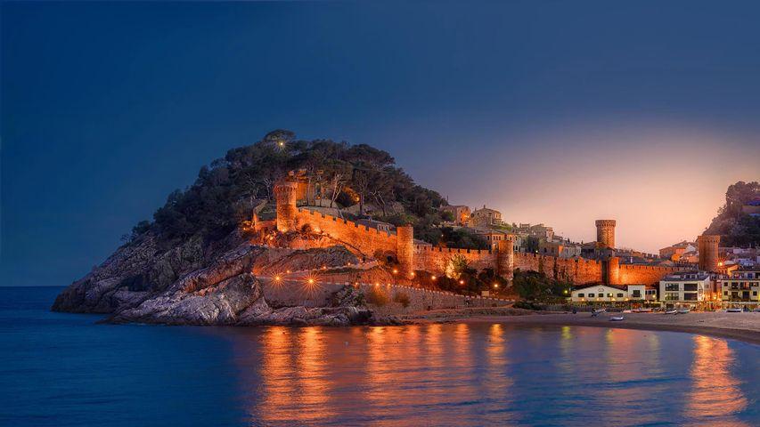 Historische Altstadt und Festung von Tossa de Mar, Katalonien, Spanien